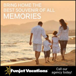 Funjet Vacations ad