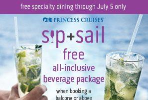 Princess Cruise Sip + Sail